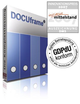 DOCUframe - die Komplettlösung für Ihr Unternehmen