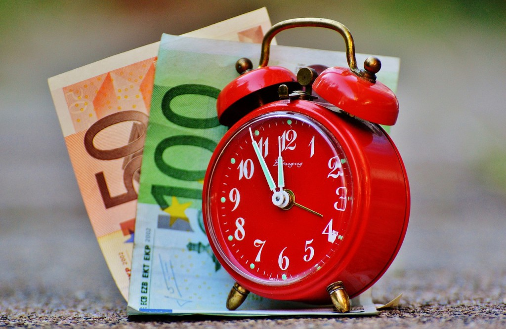 Suchen kostet Zeit und Geld